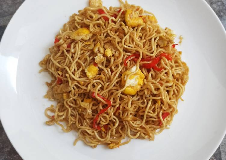 Aunt's Fried Noodle Recipe