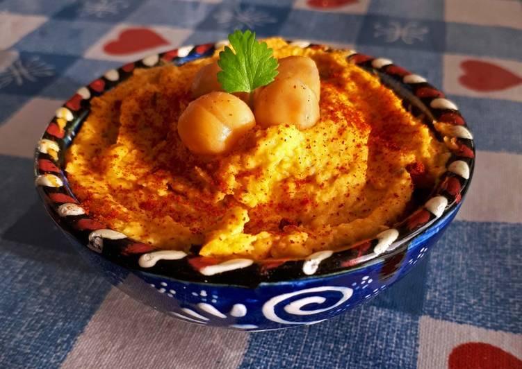 Houmous à la patate douce