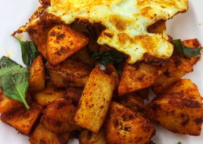 Grilled Tandoori Potato Bites #15minutesorlesscookingcontest