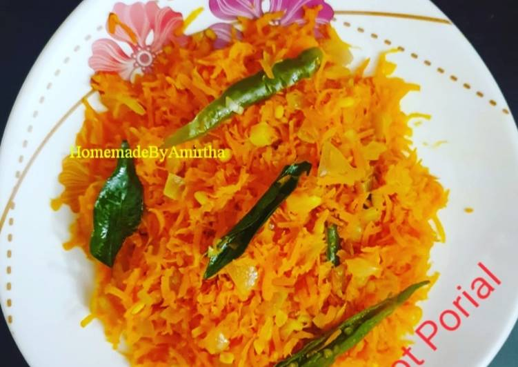 10 Minute Recipe of Royal Carrot porial