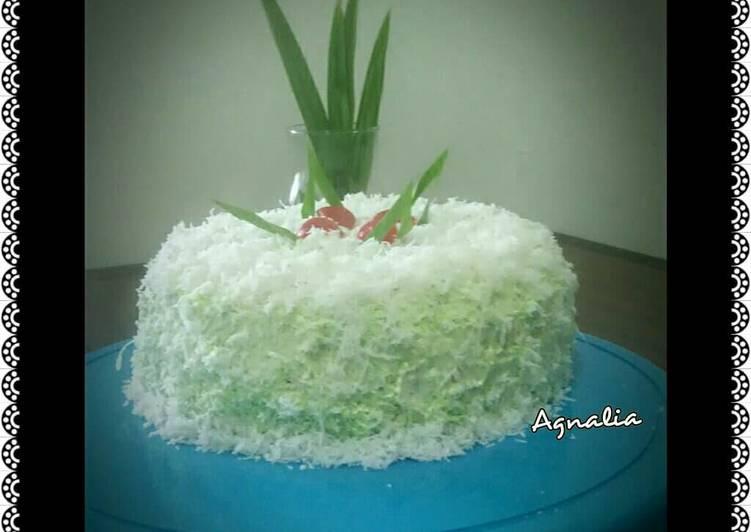 Klepon cake 🍰