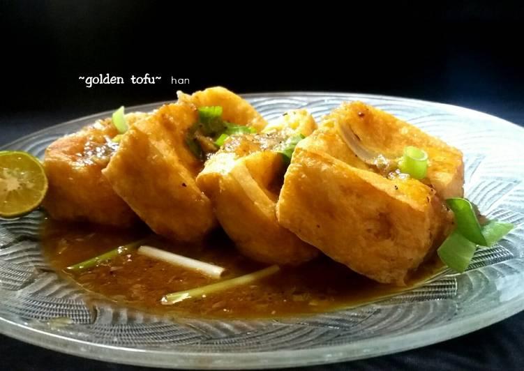 Golden Tofu #pr_adakecapmanisnya