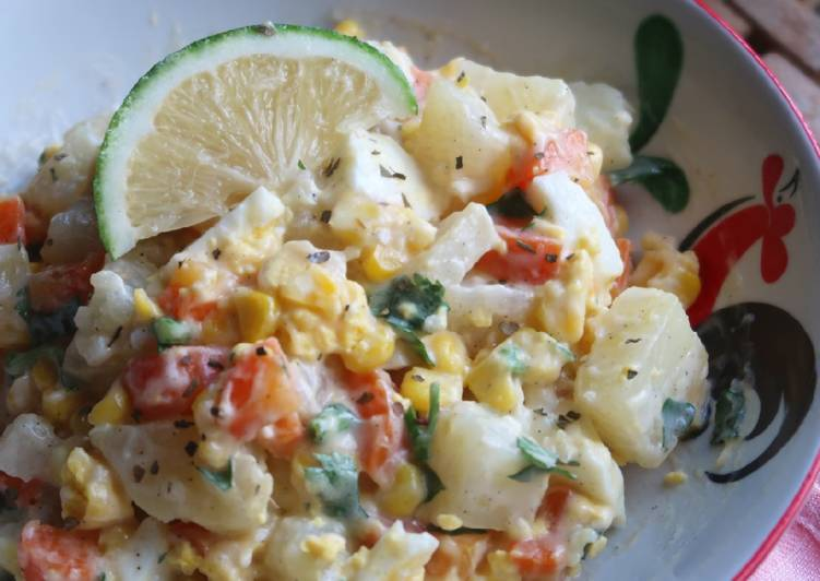 Salad Sayur Kentang