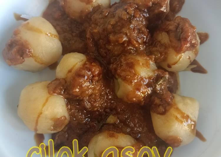 Cilok asoy (tanpa telur tetep empuk)