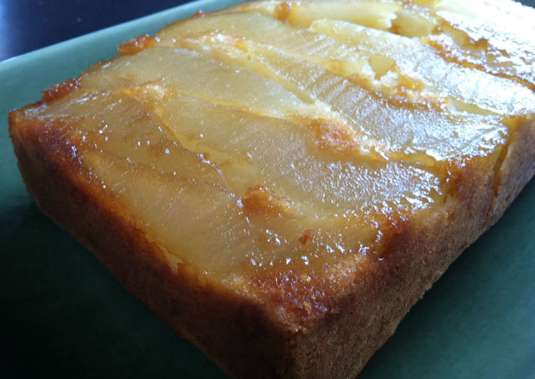 Easiest Way to Make Yummy Pear Upside-down Cake