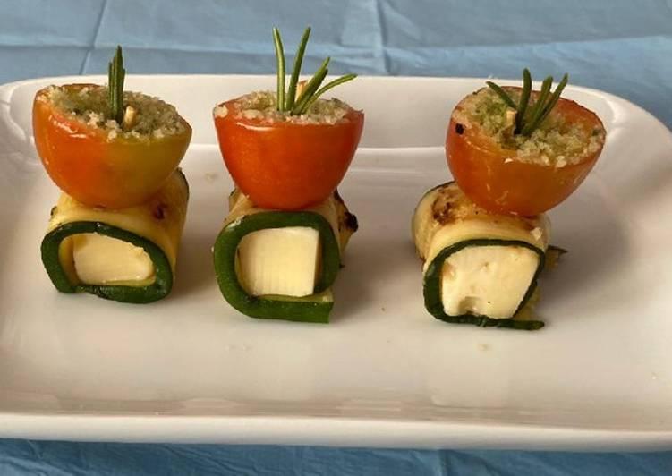 Ricetta Finger food,con pomodorini al crumble salato