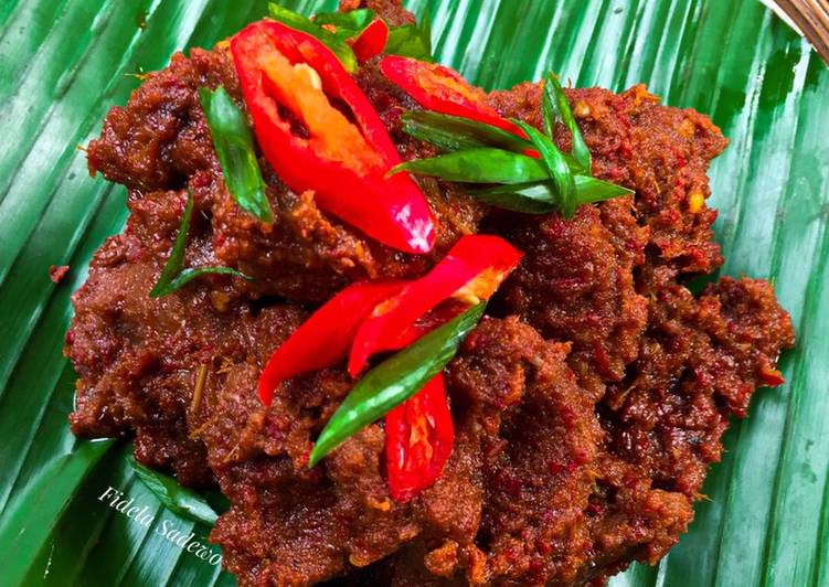 Rendang Daging Sapi [Resep oleh Chef William Wongso]