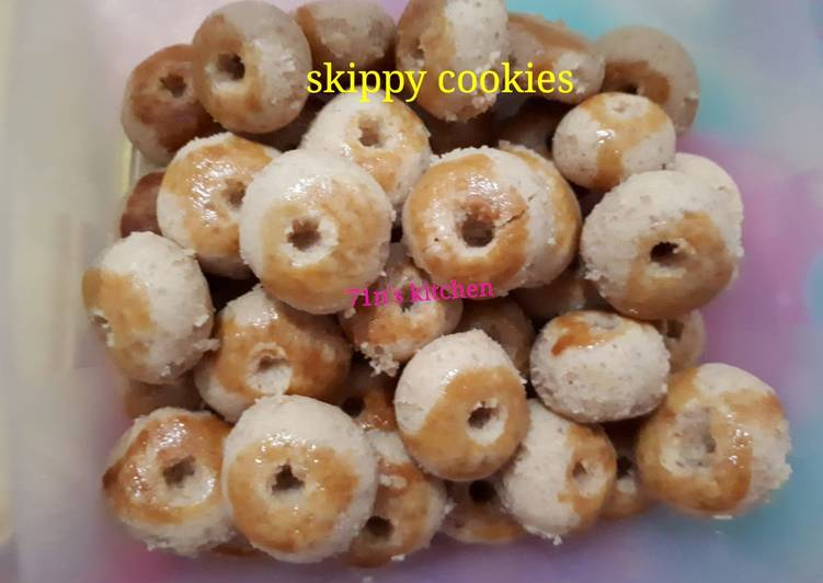 Skippy cookies (kue kering kacang)