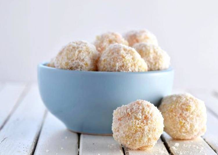 Easiest Way to Make Ultimate Apricot and Coconut Balls