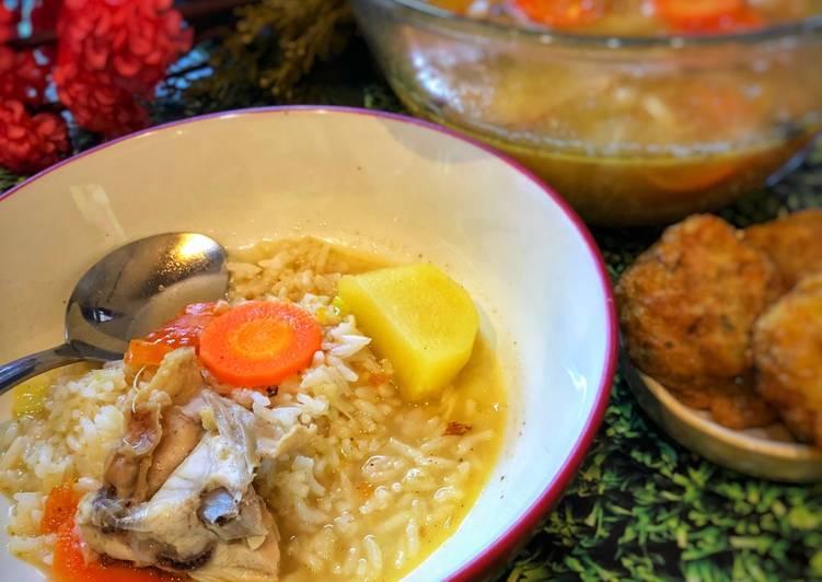 Sup Ayam ala Tiger Kitchen