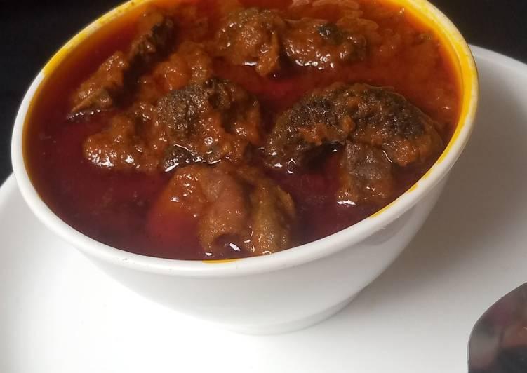 Easiest Way to Make Homemade Buka stew
