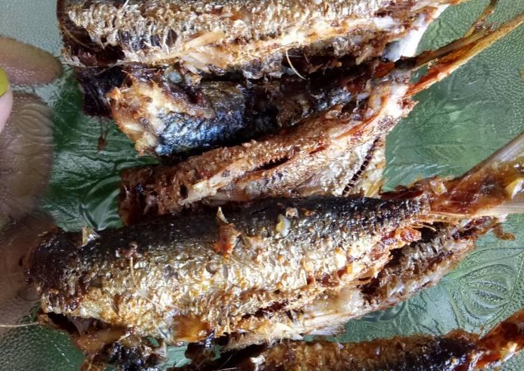 Ikan sardine / ikan kucing goreng