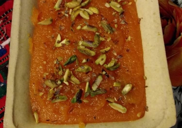 25 Minute Recipe of Favorite Suji Halwa