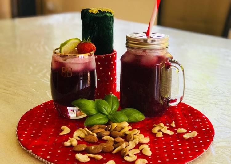 Recipe of Most Popular Blueberry Lemonade