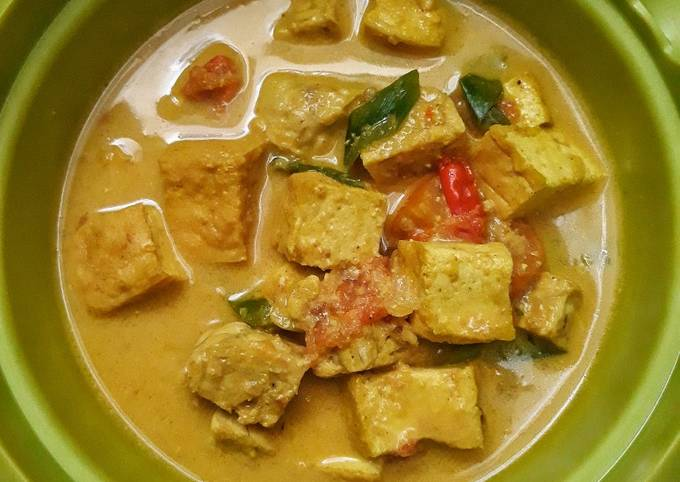 Resep Tahu Tempe Kuah Santan Oleh Sri Ratna Ningsih Cookpad
