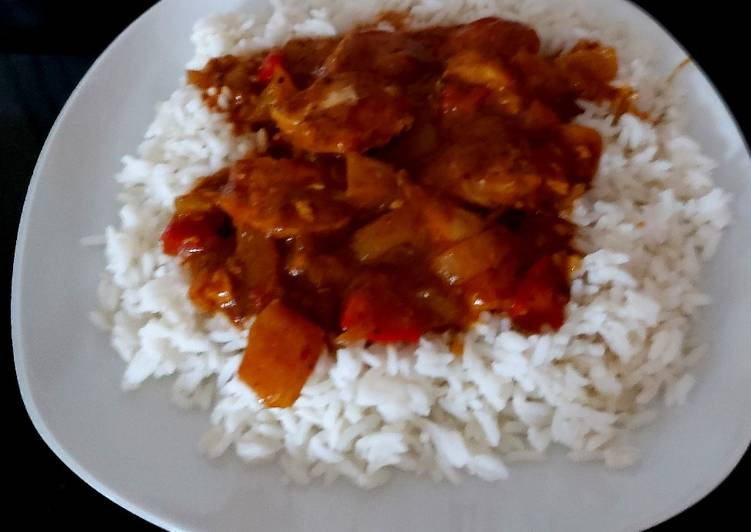 Slow cooked Chicken Madras. 😸