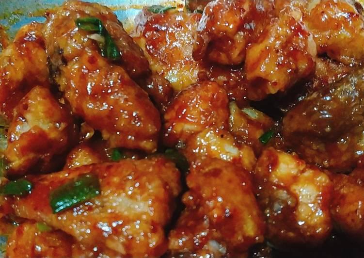 Ayam gochujang halal homemade