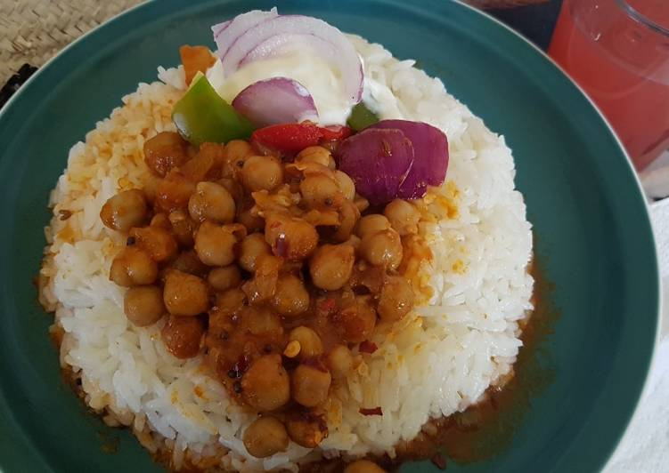 7 Delicious Homemade Chickpea curry