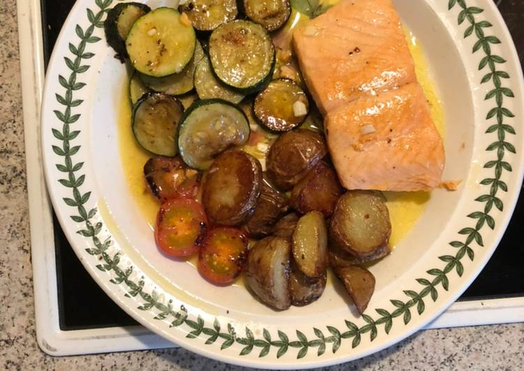 Recipe: Yummy Pan-fried Trout Fillets