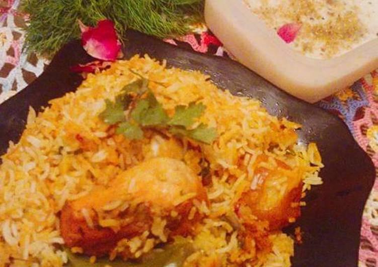 Kacchi Biryani. Cuisine: Bangladeshi