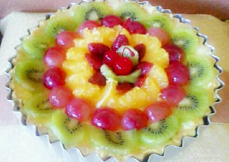 Resep Pie Buah (Fruit Pie) Paling Mudah