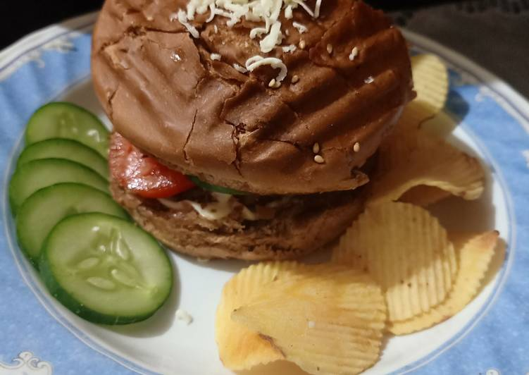 Recipe of Speedy Veg burger