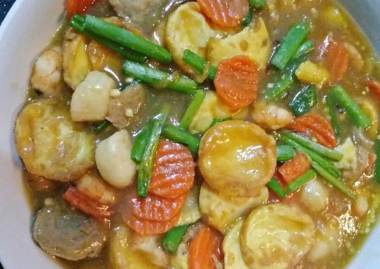 Resep Unggulan Sapo Tahu Seafood Paling Enak Resep Masakanku