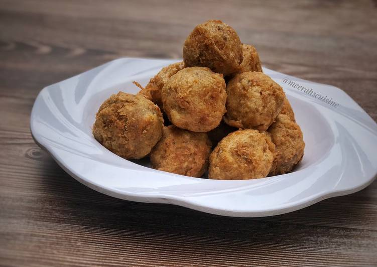 Easiest Way to Make Top-Rated Yam balls