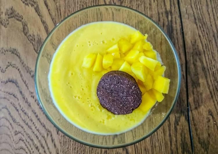 Crème de mangue vegan