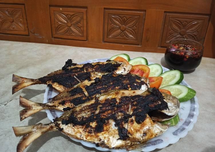 Ikan Kuwe Bakar