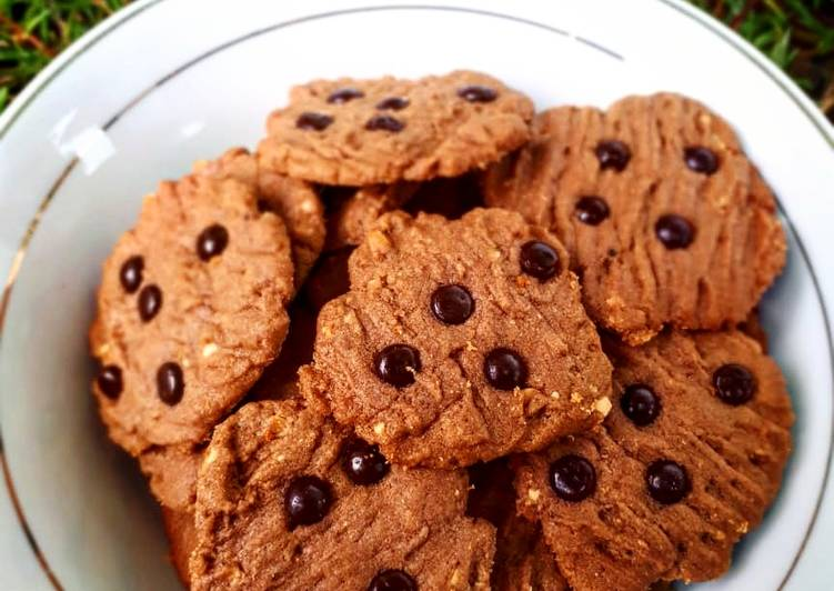 Resep Nutty Chocolate cookies, Menggugah Selera