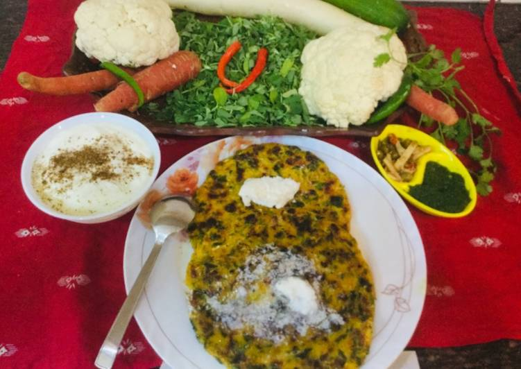 The Meals You Select To Feed On Will Effect Your Health Mixed Vegetables Makki Paranthas