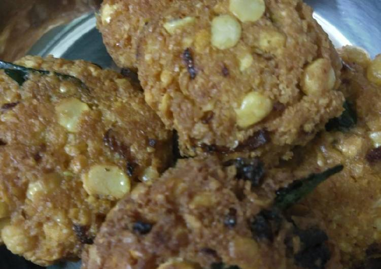 Dal vada Finding Healthy Fast Food