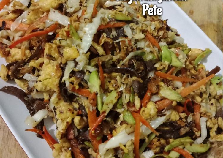 Orak-Arik Sayuran Jamur Pete
