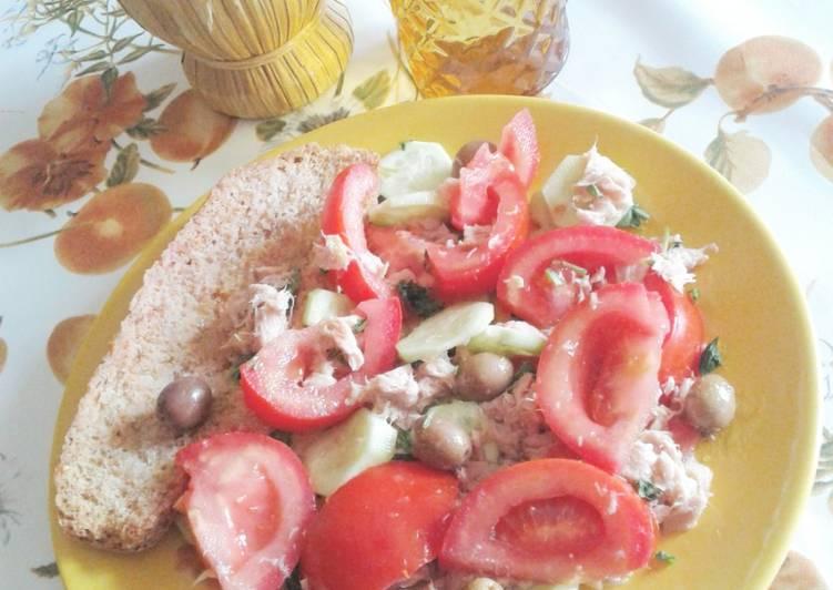 Frisella integrale con pomodori (ricetta light)