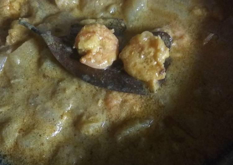 Quick prawn malai curry Finding Nutritious Fast Food