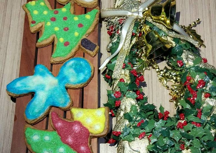 Kue kering jahe / Gingerbread man cookies