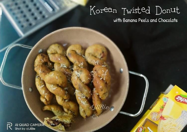Korean Twisted Donut
