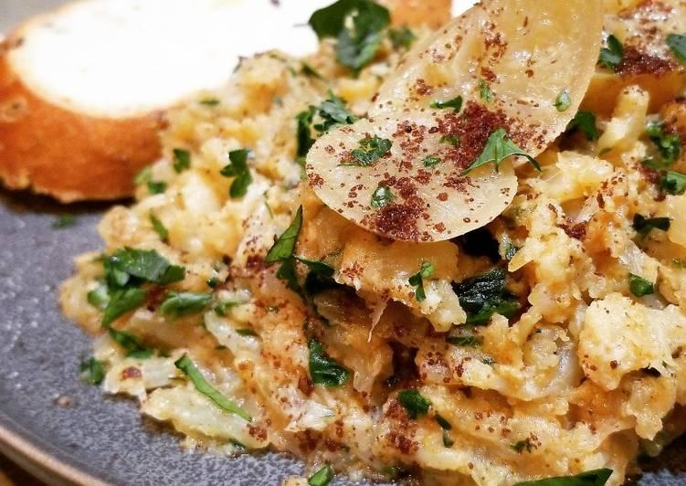 Cauliflower Zaalouk (Moroccan Spiced Salad)