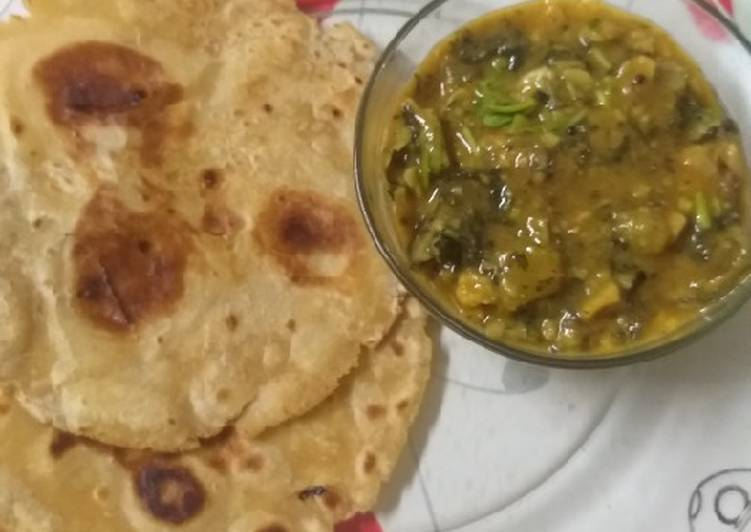 Step-by-Step Guide to Prepare Most Popular Visrati Vangi Turia Pana Sabji with paratha