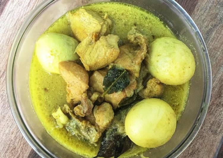Resep Memasak Opor Ayam Bumbu Kuning Hitungan Menit