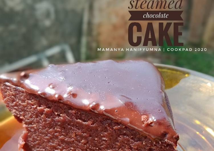 steamed-chocolate-cake-easy-moist-yummy