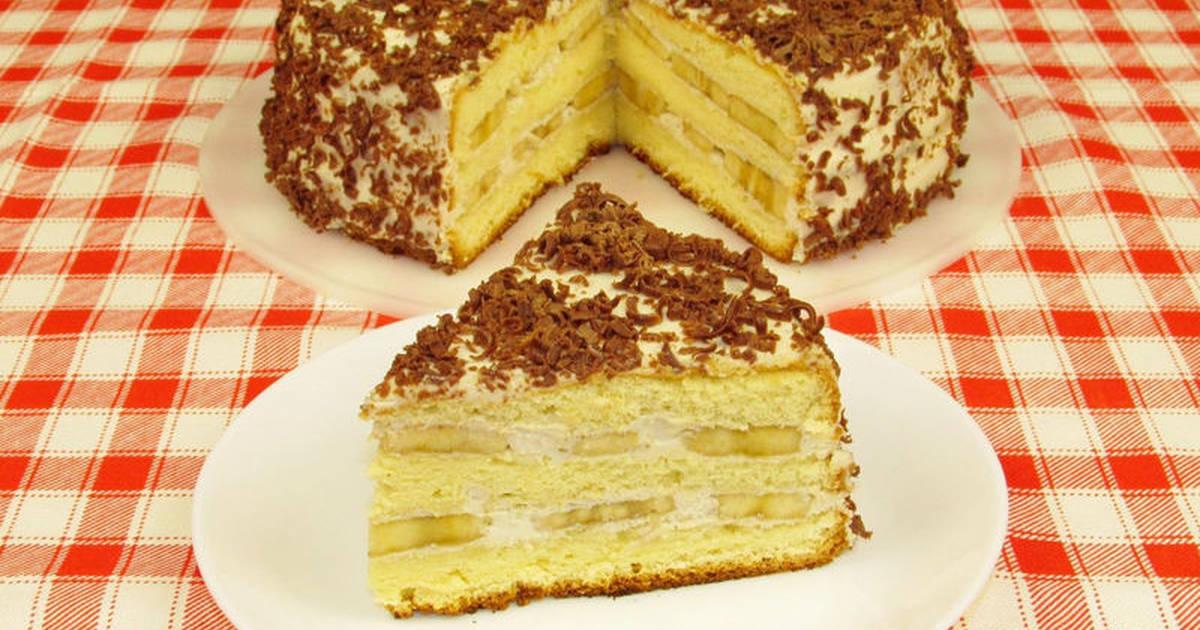 основном банановый торт простой рецепт с фото такое