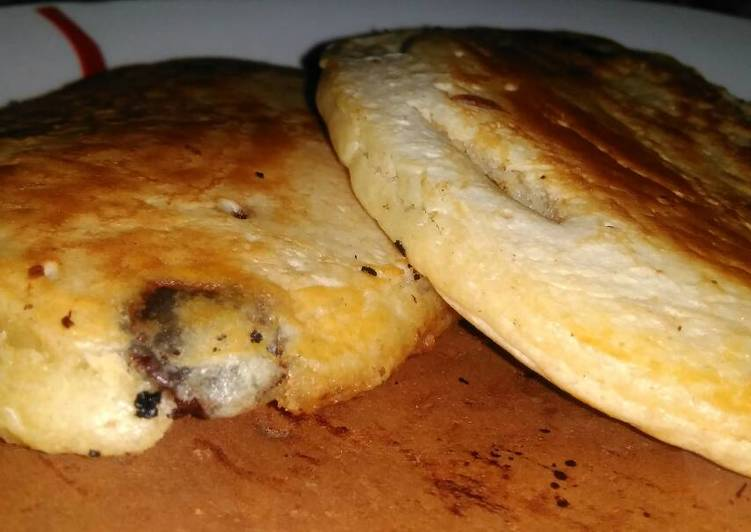 How to Cook Appetizing Pancakes with Chocolate Chips