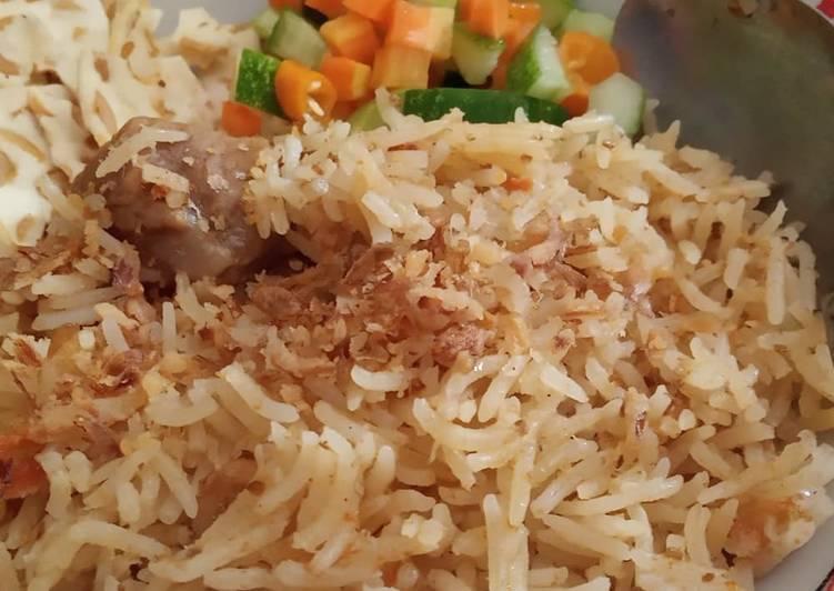 Nasi Bukhori ala dapur bu pitta