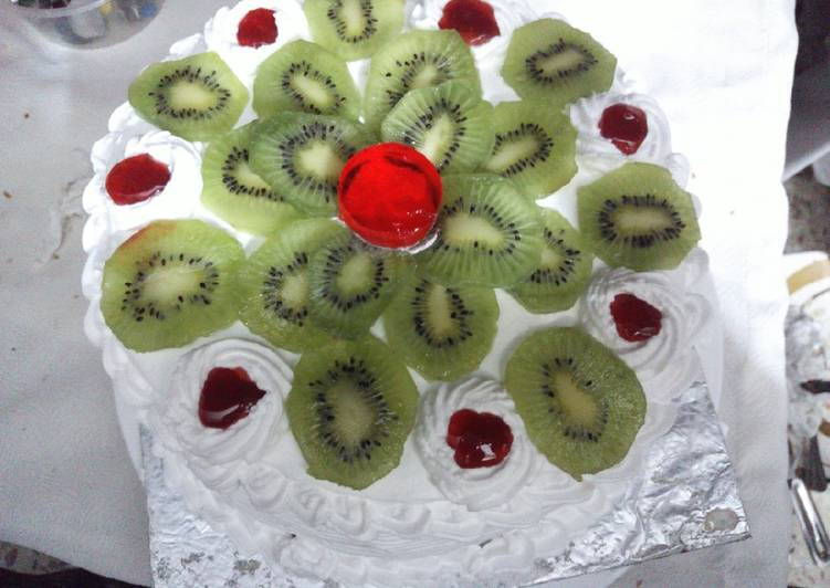 Step-by-Step Guide to Prepare Ultimate Kiwi Fruit cake