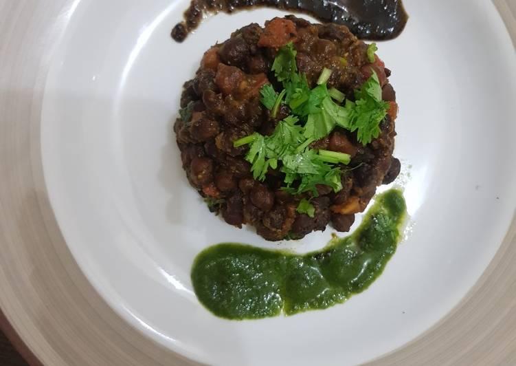 Chana masala chaat