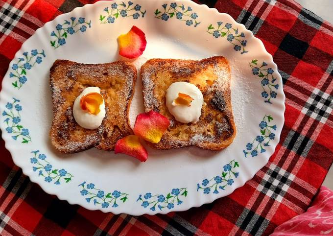 No Egg French Toast