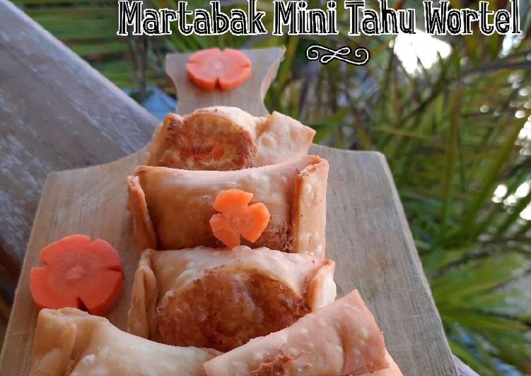 Martabak Mini Tahu Wortel