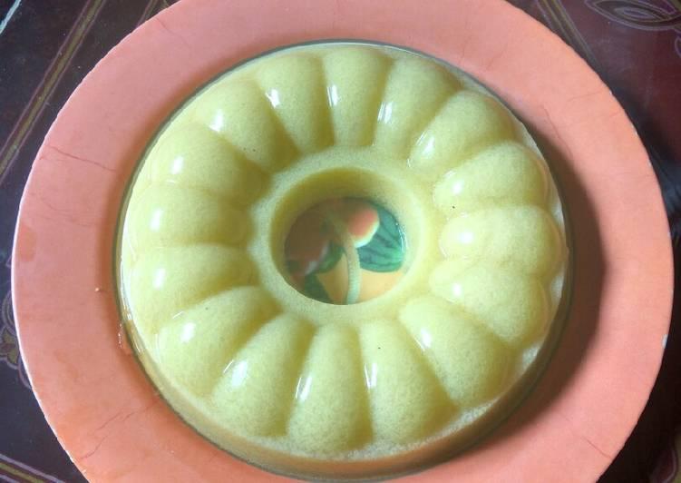 Pudding jagung manis